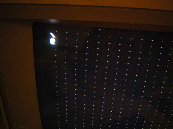 Apple 1 With Increased Monitor Brightness