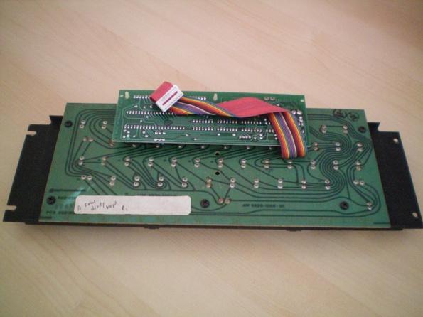 Apple II Keyboard Bottom