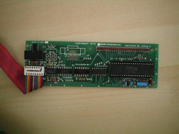 Original Apple II Encoder Card
