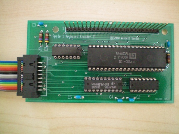 Custom Apple 1 Encoder Card