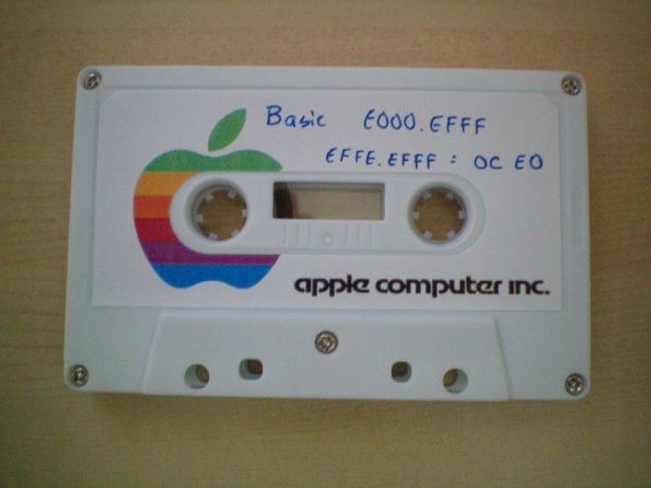 Apple 1 BASIC Cassette